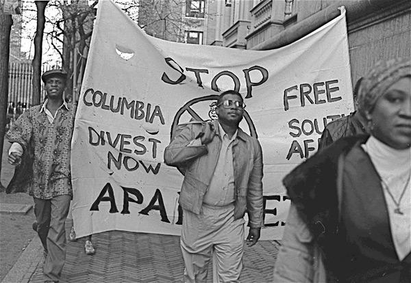 Columbia divest